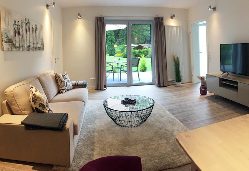 Apartment Gartensuite - Waldhusen | Hotel Restaurant Apartments